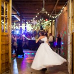 Downtown Knoxville wedding party
