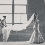 Downtown Knoxville bride
